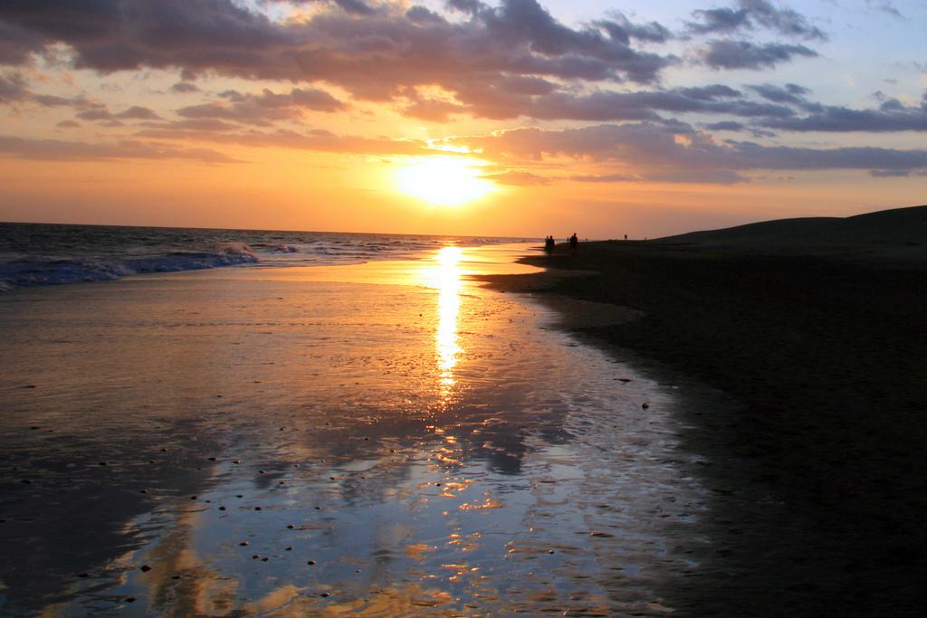 Пляж Плайя-дель-Инглес в Испании, фото 6