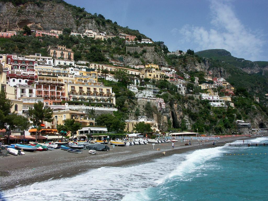 Пляж Позитано в Италии, фото 2