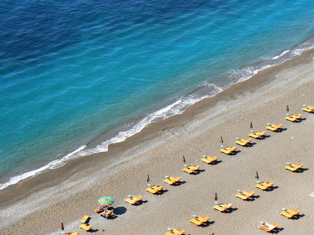 Пляж Позитано в Италии, фото 3