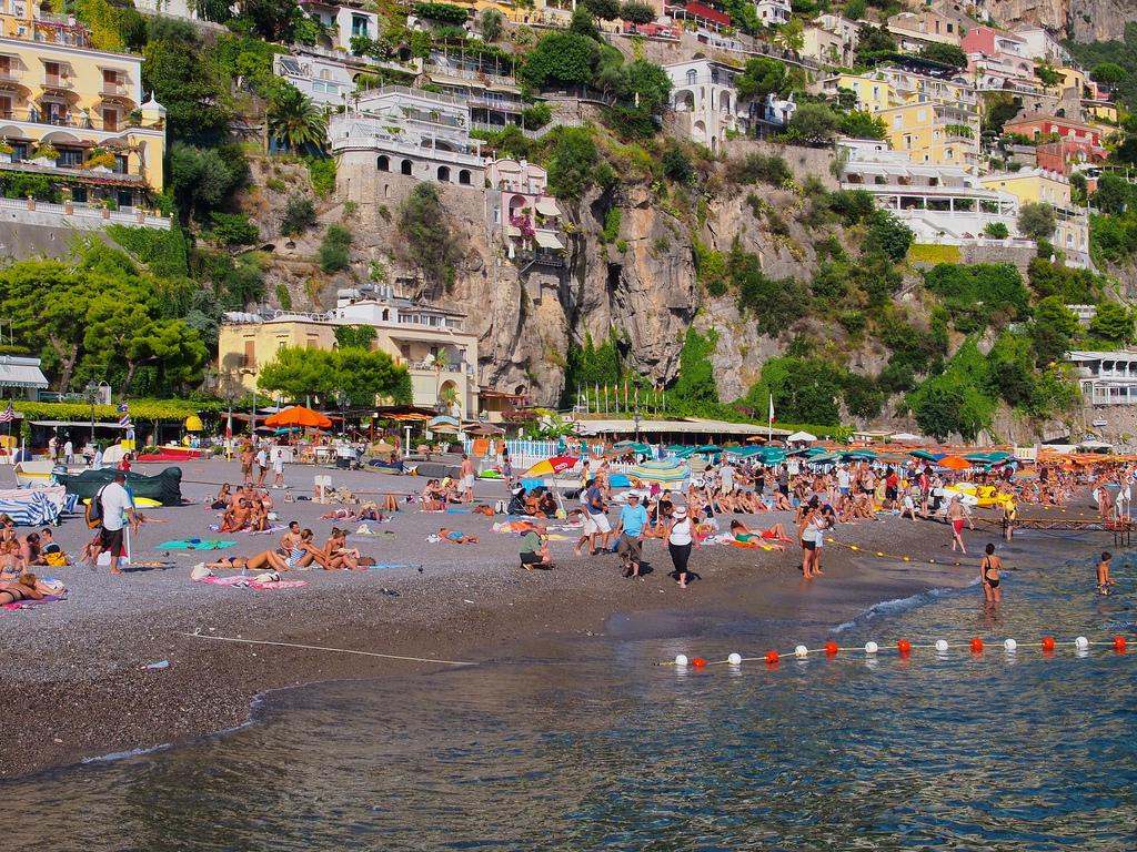 Пляж Позитано в Италии, фото 4