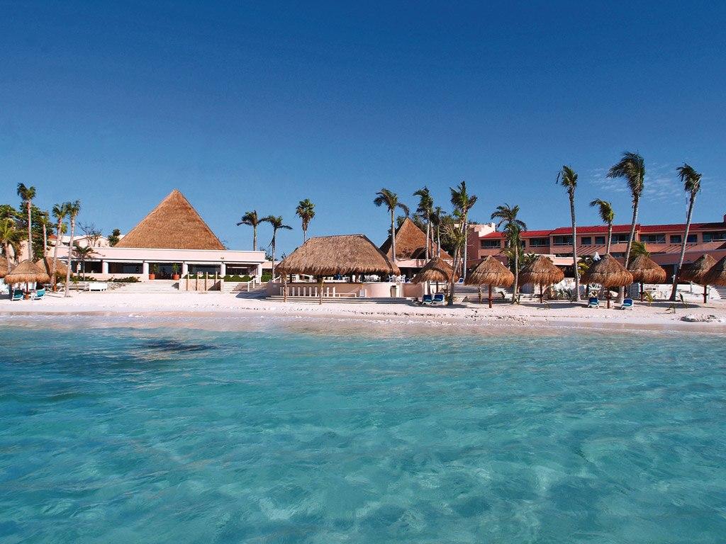 Пляж Пуэрто-Авентурас в Мексике, фото 1