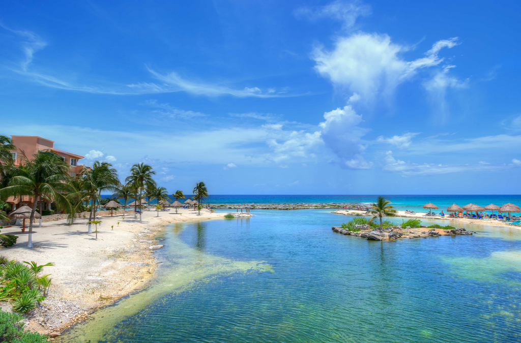 Пляж Пуэрто-Авентурас в Мексике, фото 3