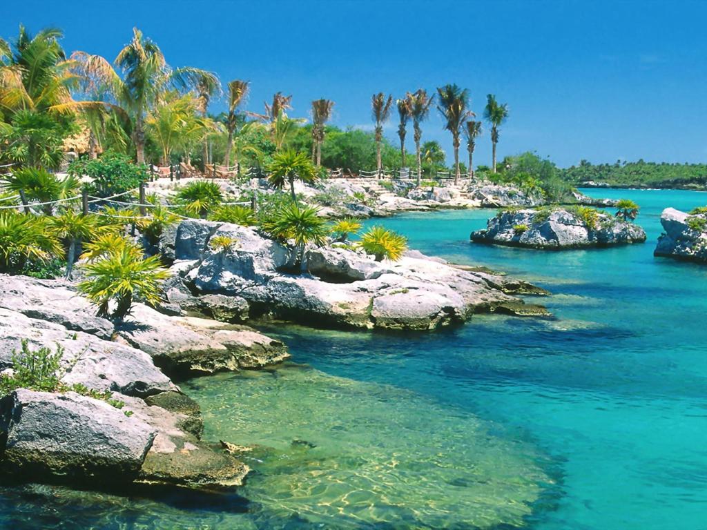 Пляж Пуэрто-Авентурас в Мексике, фото 4
