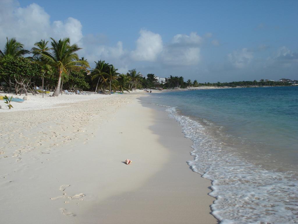 Пляж Пуэрто-Авентурас в Мексике, фото 5