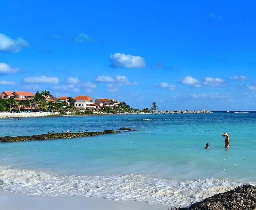 Пляж Пуэрто-Авентурас в Мексике, фото 6