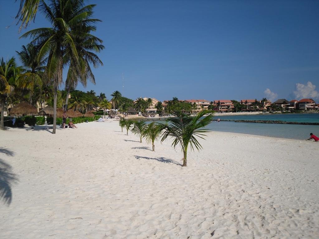 Пляж Пуэрто-Авентурас в Мексике, фото 9
