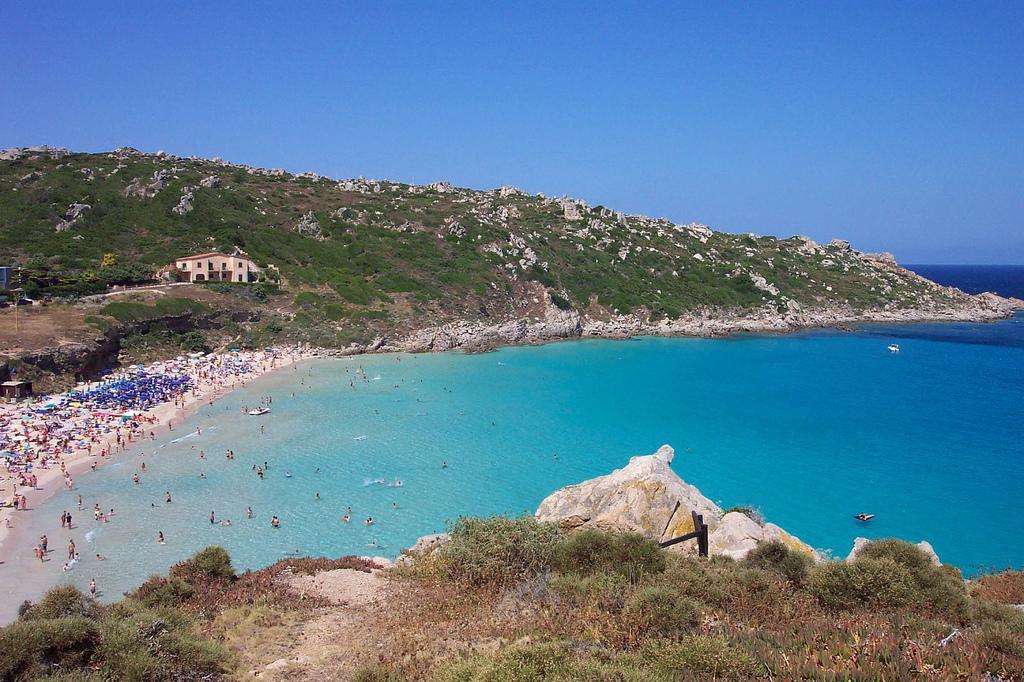 Пляж Рена Бьянка в Италии, фото 3