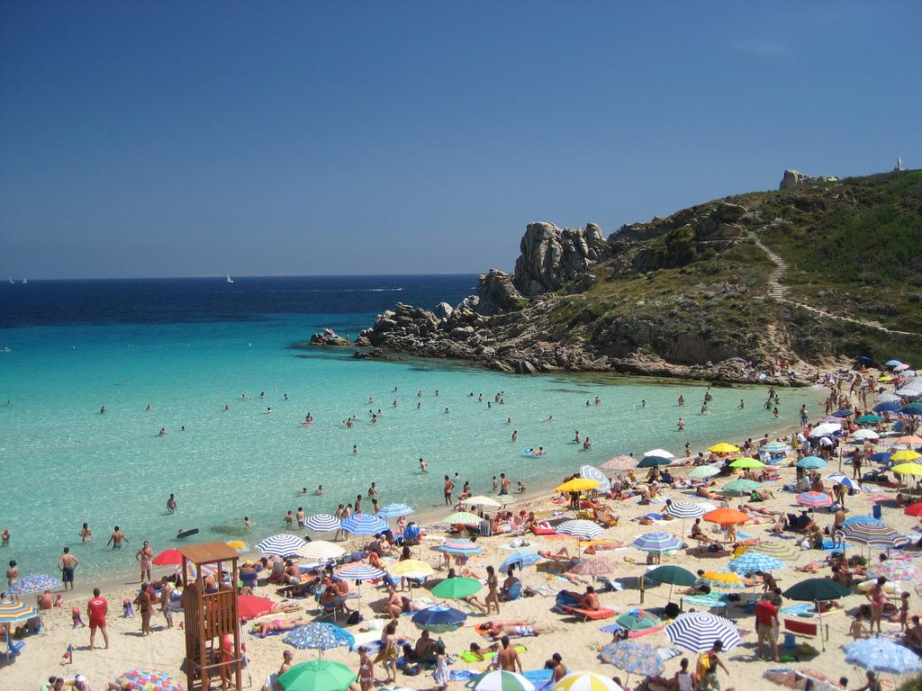 Пляж Рена Бьянка в Италии, фото 7