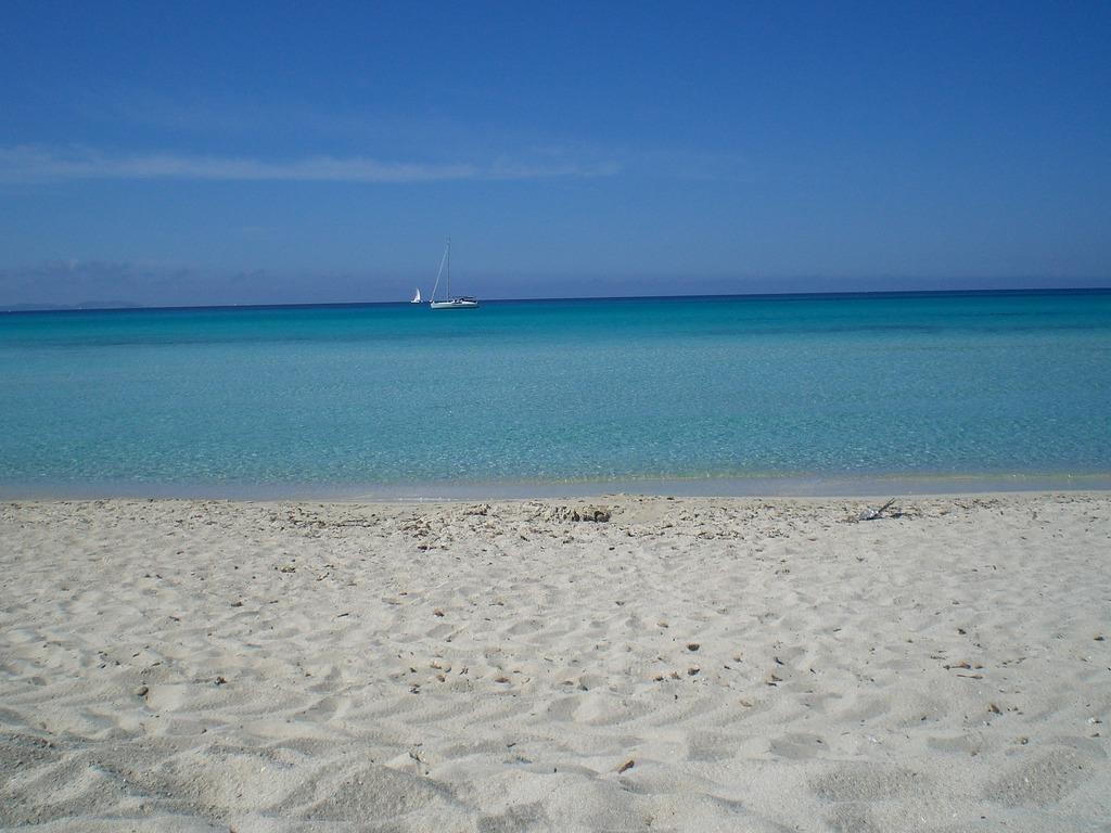 Пляж Са Рапита в Испании, фото 5