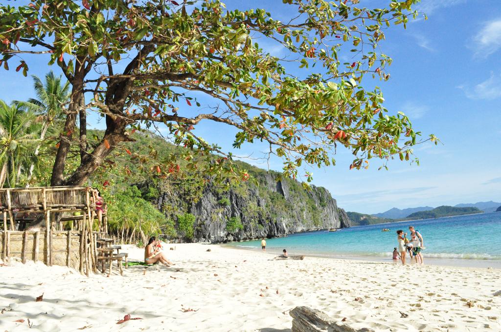 Пляж Секретная лагуна в Филиппинах, фото 1