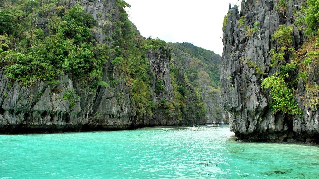 Пляж Секретная лагуна в Филиппинах, фото 2