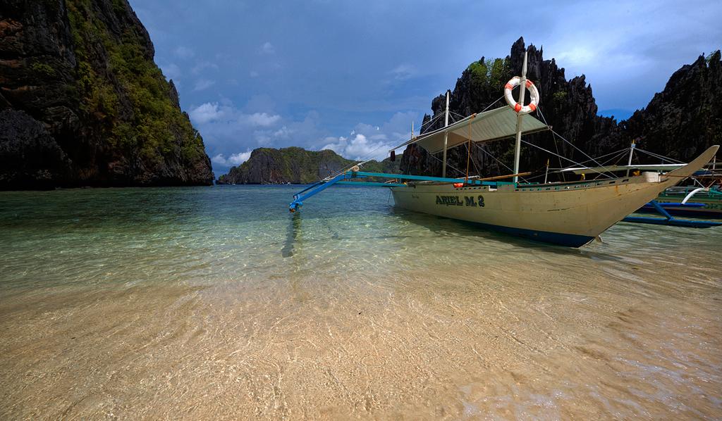 Пляж Секретная лагуна в Филиппинах, фото 5
