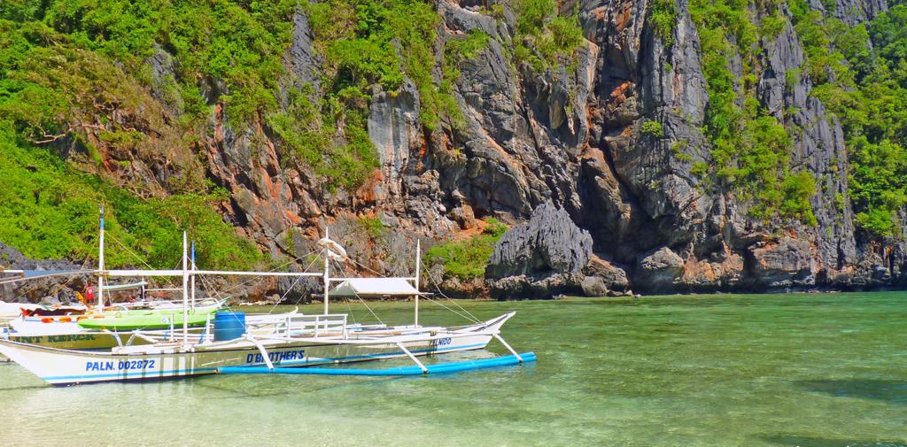 Пляж Секретная лагуна в Филиппинах, фото 6