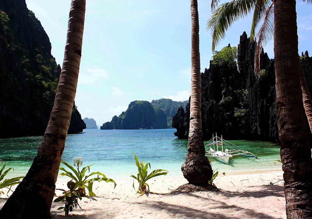 Пляж Секретная лагуна в Филиппинах, фото 7