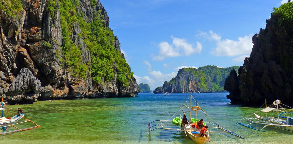 Пляж Секретная лагуна в Филиппинах, фото 8