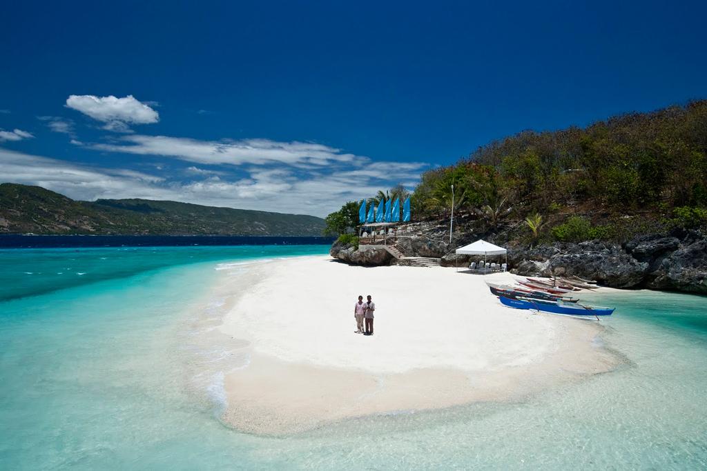 Пляж Сумилон в Филиппинах, фото 1