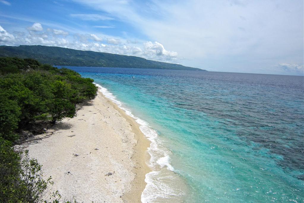 Пляж Сумилон в Филиппинах, фото 4
