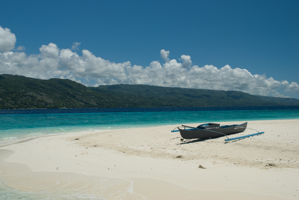 Пляж Сумилон в Филиппинах, фото 6