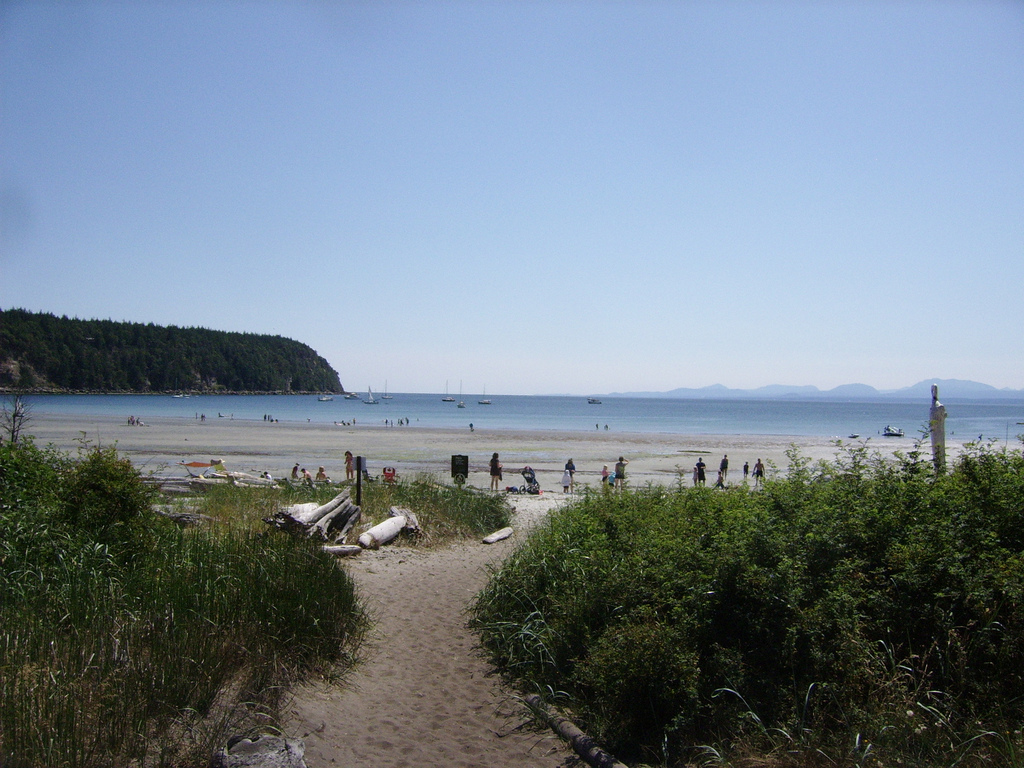 Пляж Трибьюн Бей в Канаде, фото 4