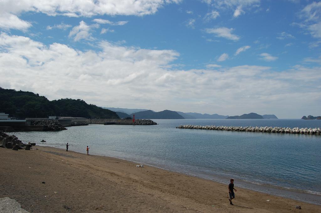 Пляж Вакаяма в Японии, фото 1