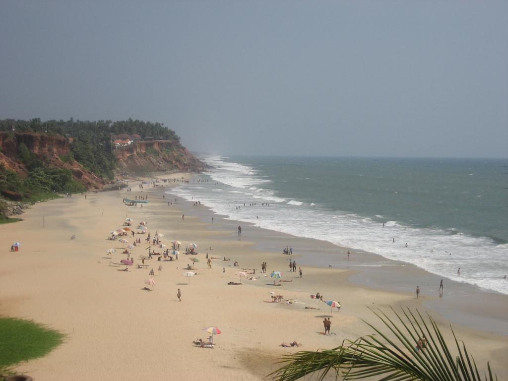 Пляж Варкала в Индии, фото 2