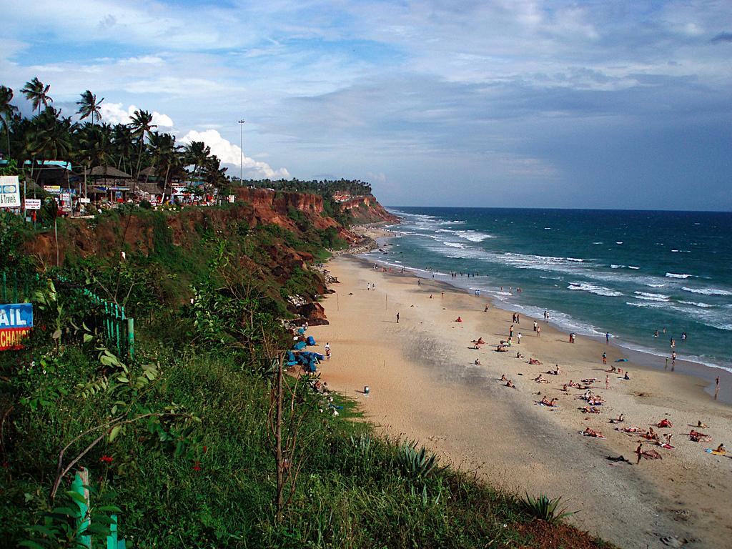 Пляж Варкала в Индии, фото 3