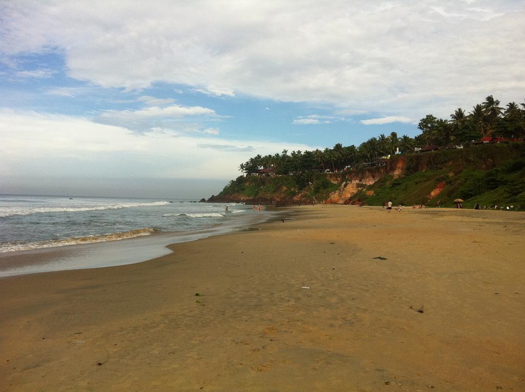 Пляж Варкала в Индии, фото 5