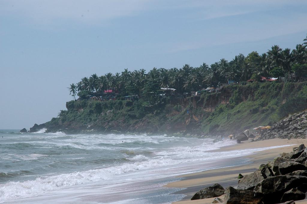 Пляж Варкала в Индии, фото 7