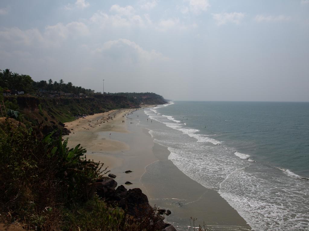 Пляж Варкала в Индии, фото 8