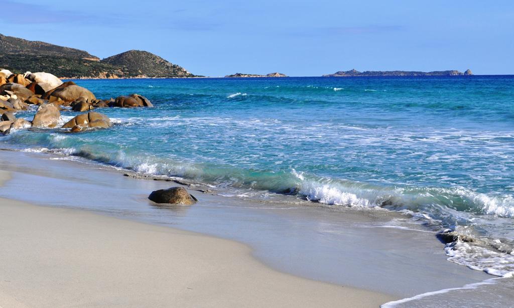 Пляж Вилласимиус в Италии, фото 4
