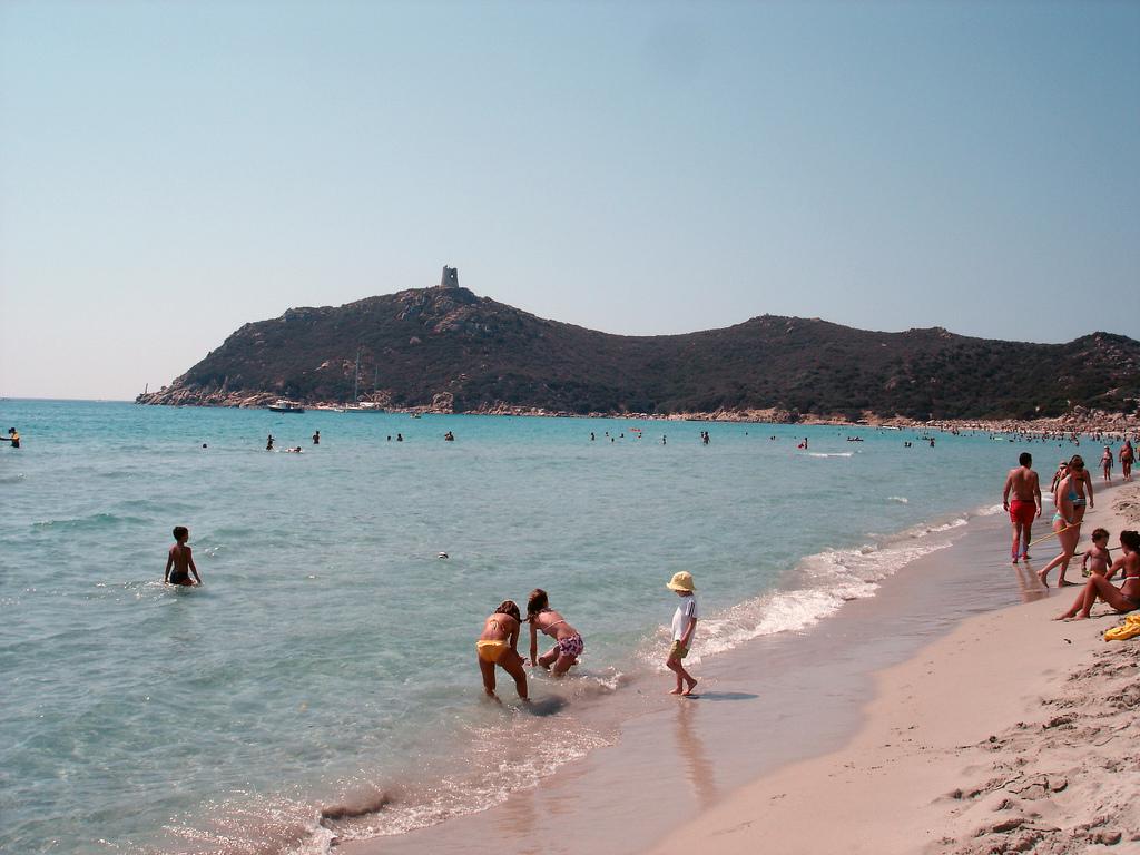 Пляж Вилласимиус в Италии, фото 7