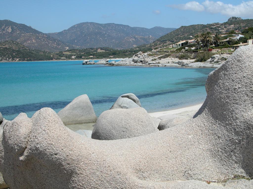 Пляж Вилласимиус в Италии, фото 8