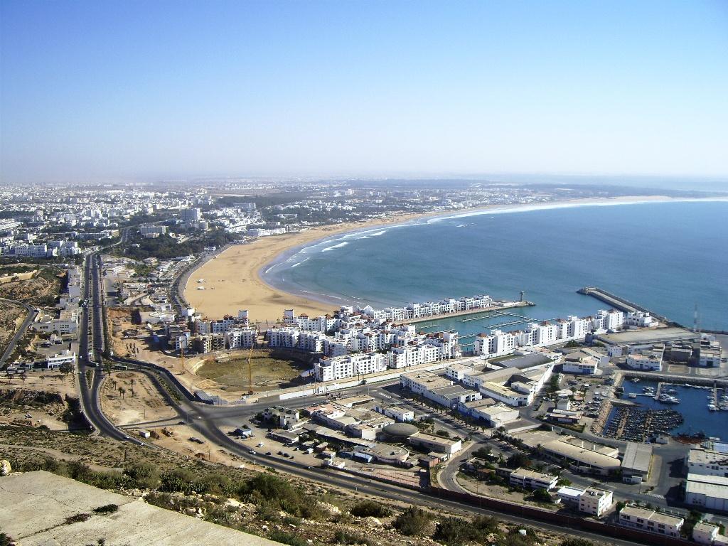 Пляж Агадир в Марокко, фото 1