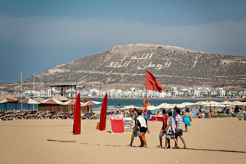 Пляж Агадир в Марокко, фото 7
