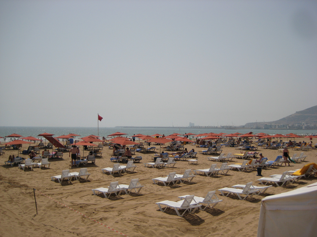 Пляж Агадир в Марокко, фото 8