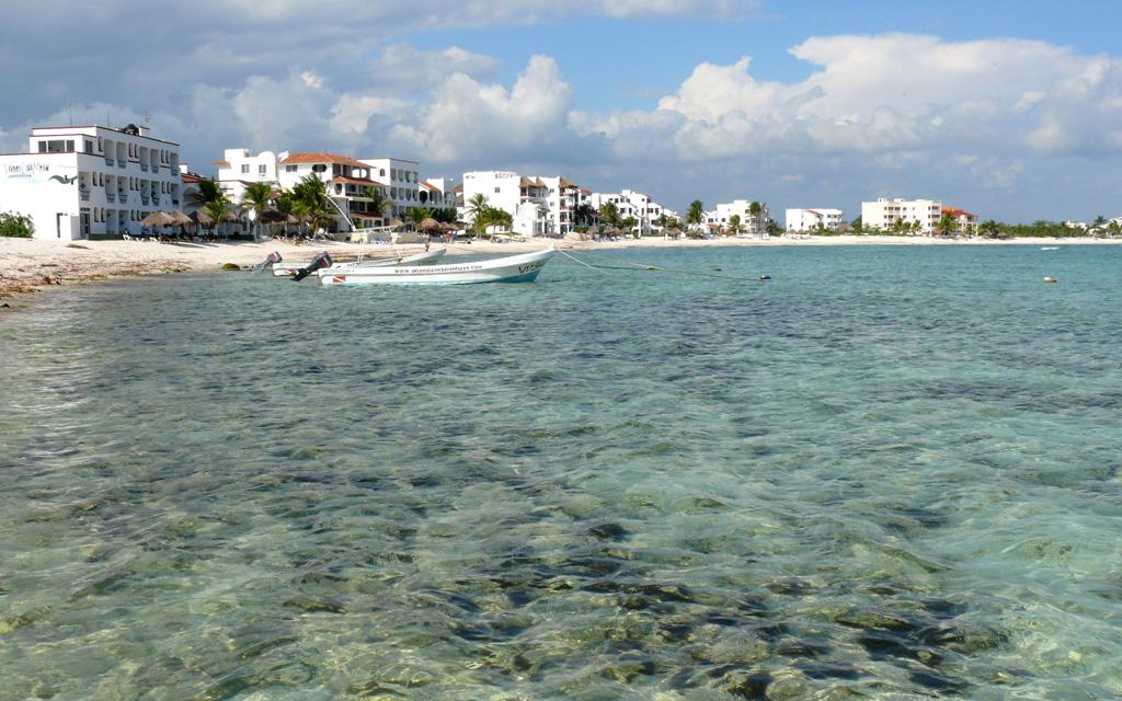 Пляж Акумаль в Мексике, фото 4