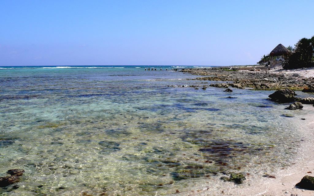 Пляж Акумаль в Мексике, фото 5
