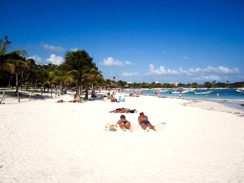 Пляж Акумаль в Мексике, фото 6