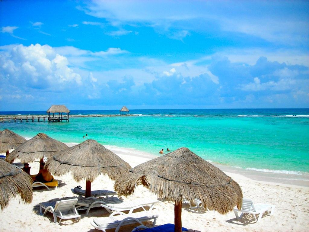 Пляж Акумаль в Мексике, фото 10