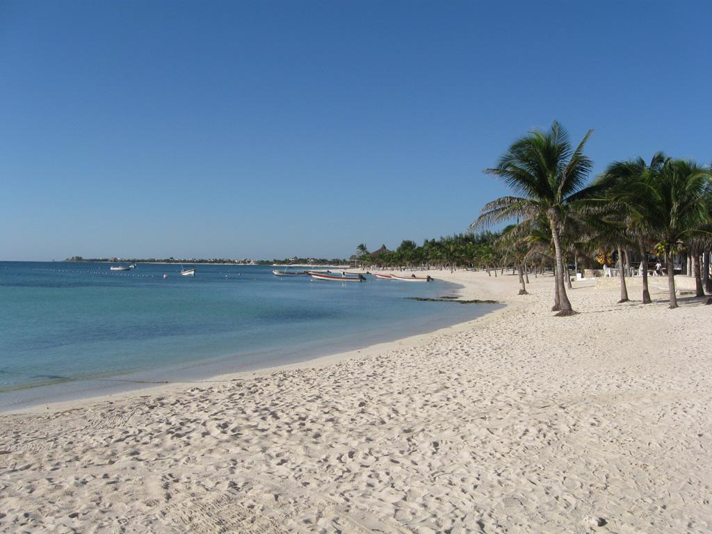 Пляж Акумаль в Мексике, фото 11