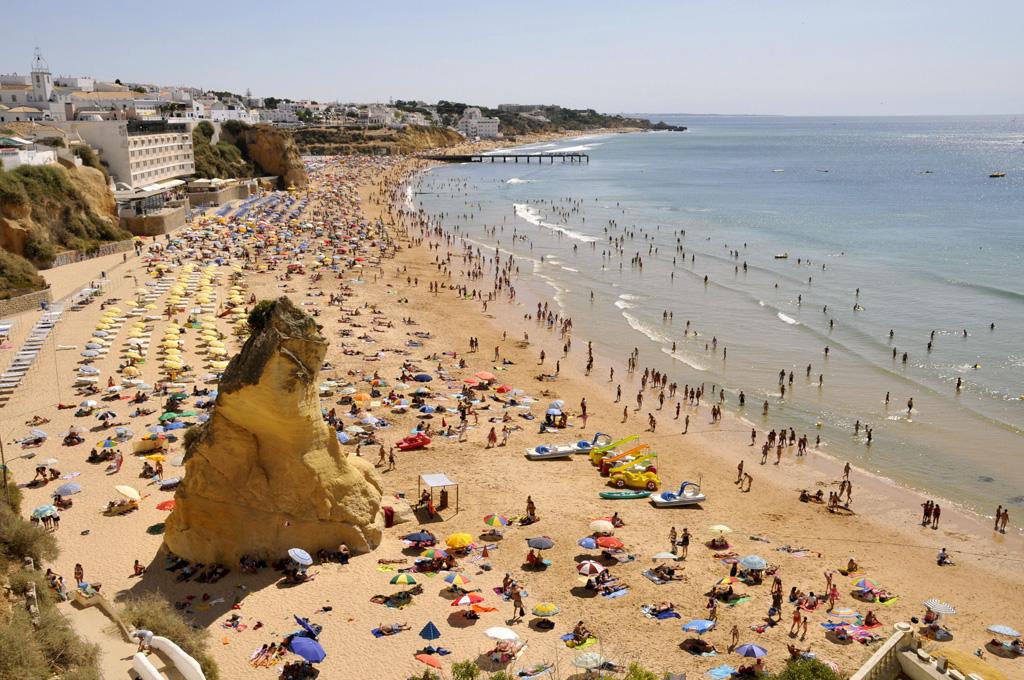 Пляж Албуфейра в Португалии, фото 1