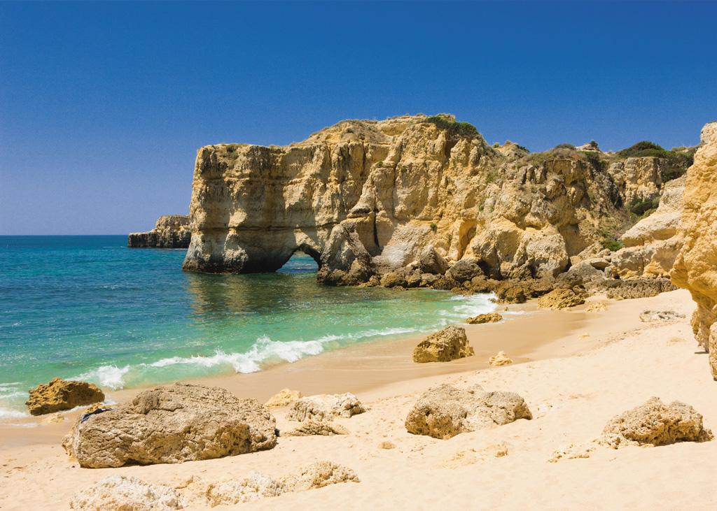 Пляж Албуфейра в Португалии, фото 3