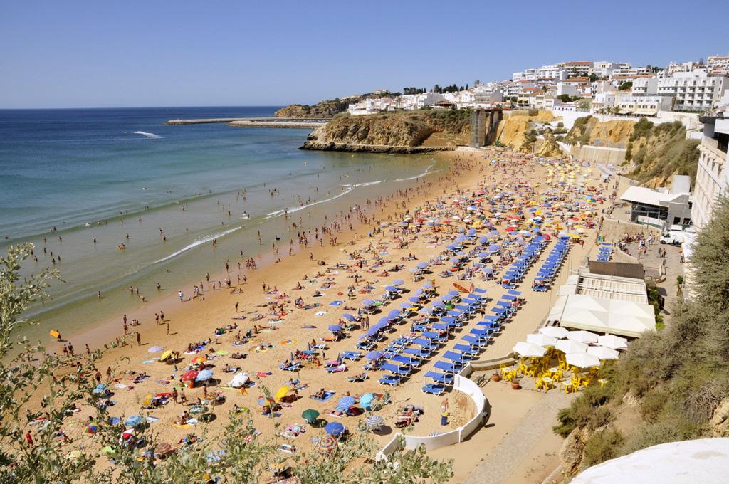 Пляж Албуфейра в Португалии, фото 8