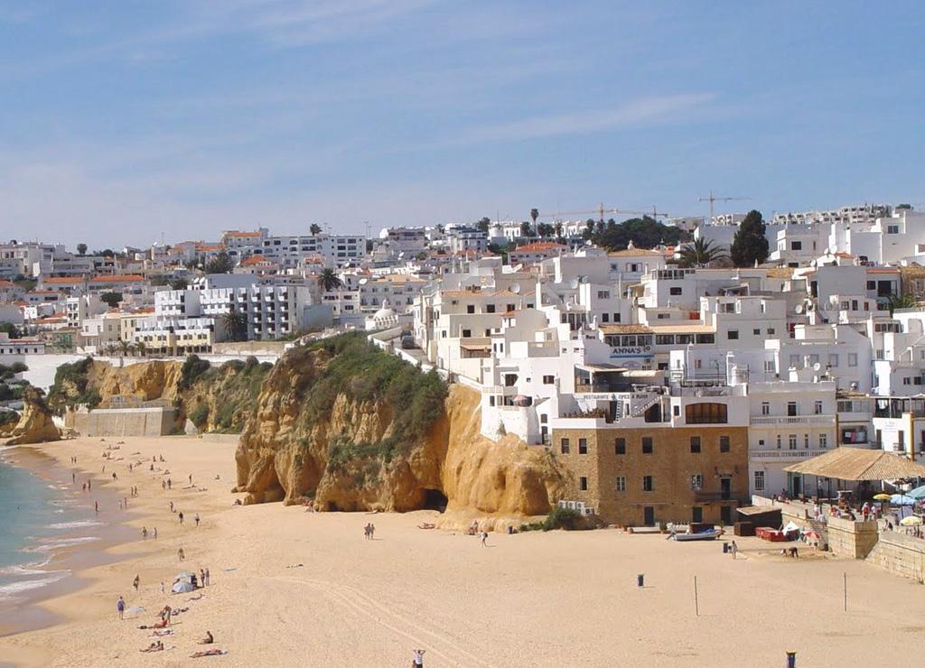 Пляж Албуфейра в Португалии, фото 9