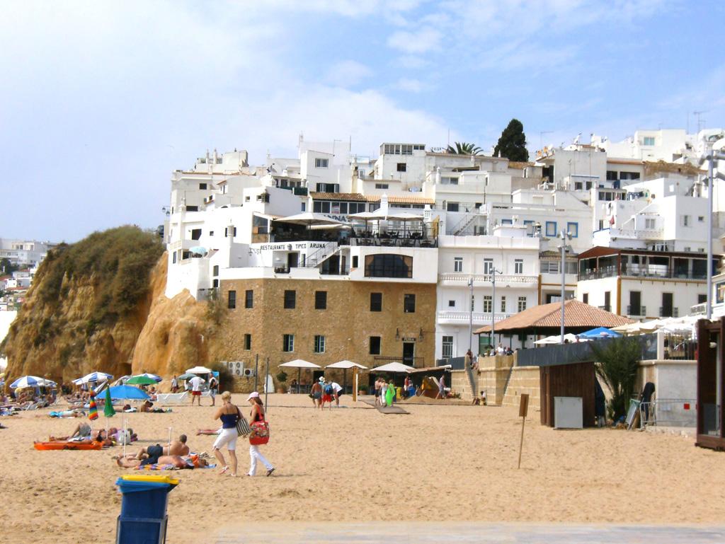 Пляж Албуфейра в Португалии, фото 10