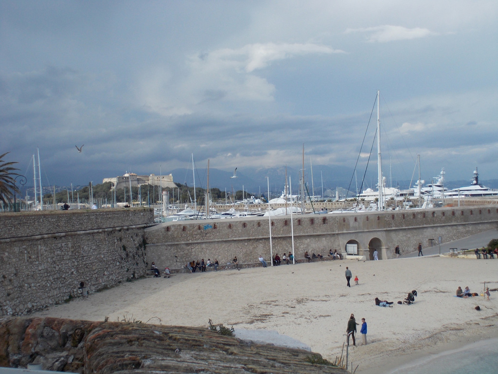 Пляж Антиб во Франции, фото 1