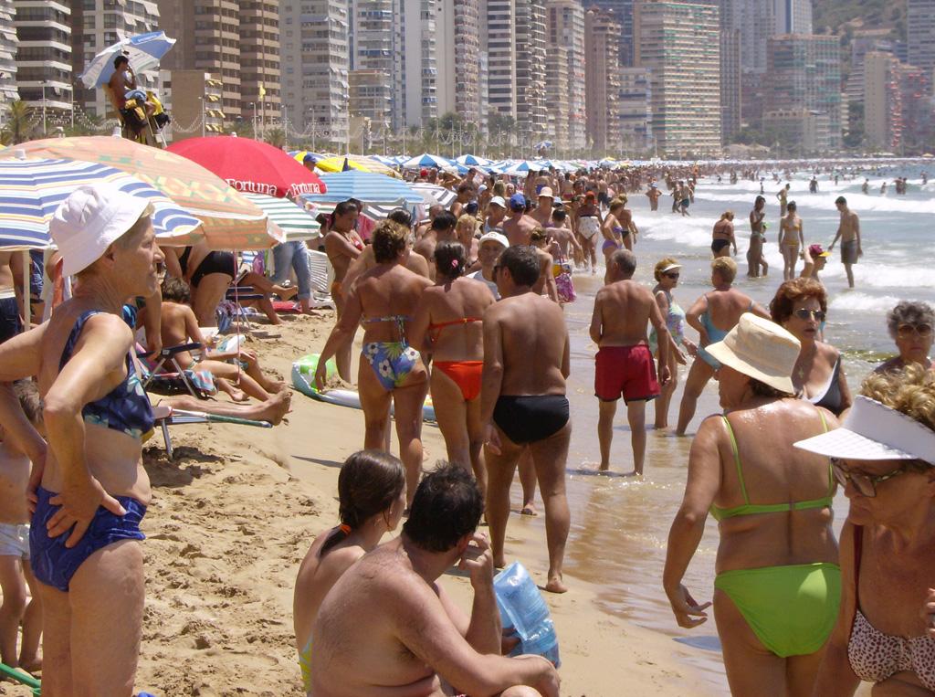Пляж Бенидорм в Испании, фото 1