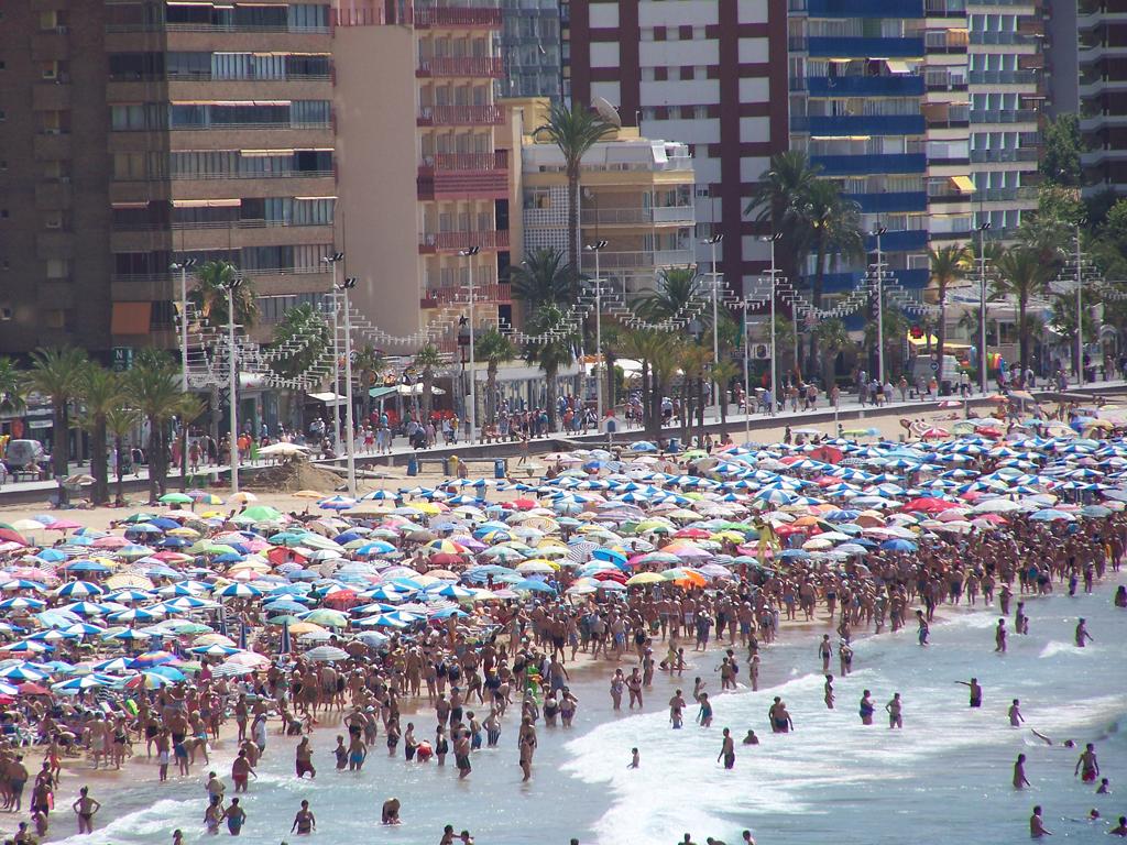 Пляж Бенидорм в Испании, фото 2