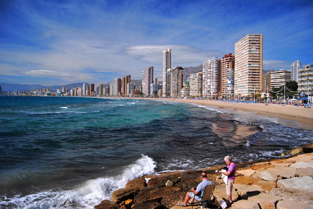 Пляж Бенидорм в Испании, фото 3