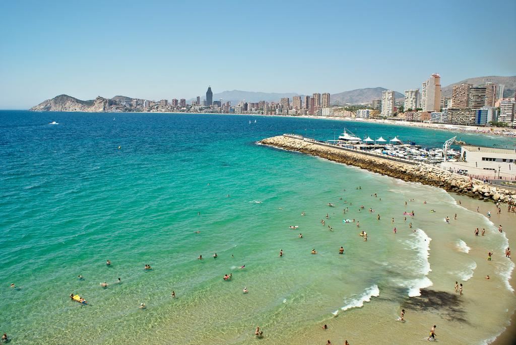 Пляж Бенидорм в Испании, фото 4